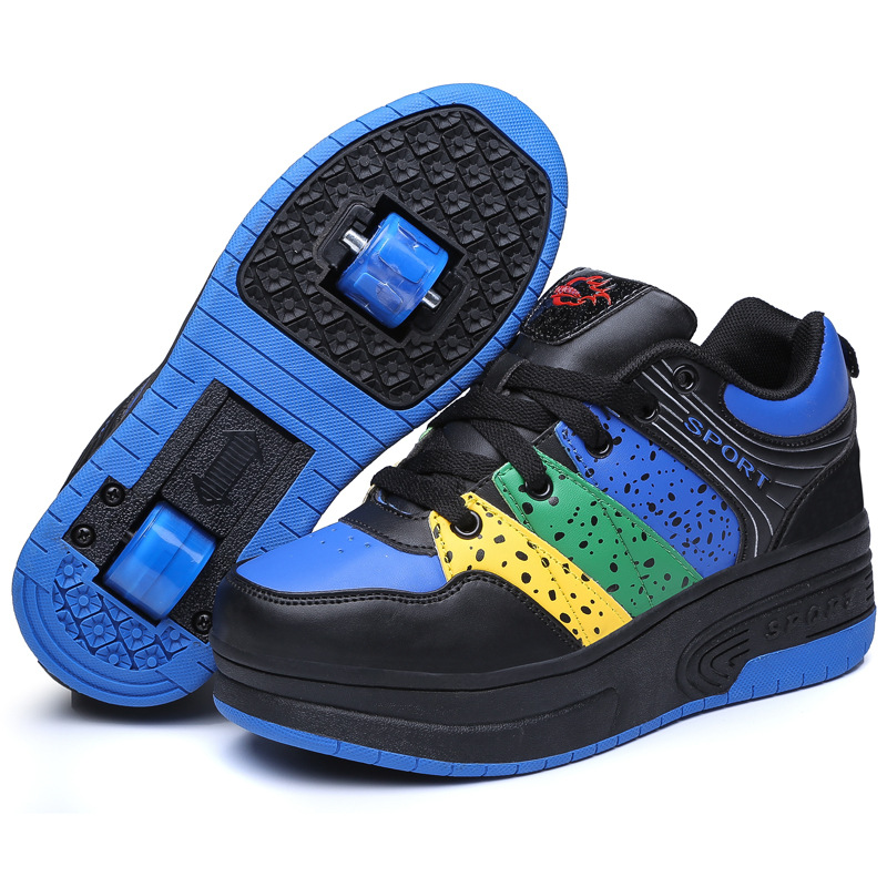 Sneakers Wheels Chaussure Enfant Zapatillas Con Ruedas Girls Shoes Children Kids Boys Trainers