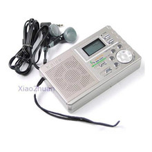 Drop Shipping Portable AM FM Radio Alarm Clock LCD Digital Tuning New Arrive