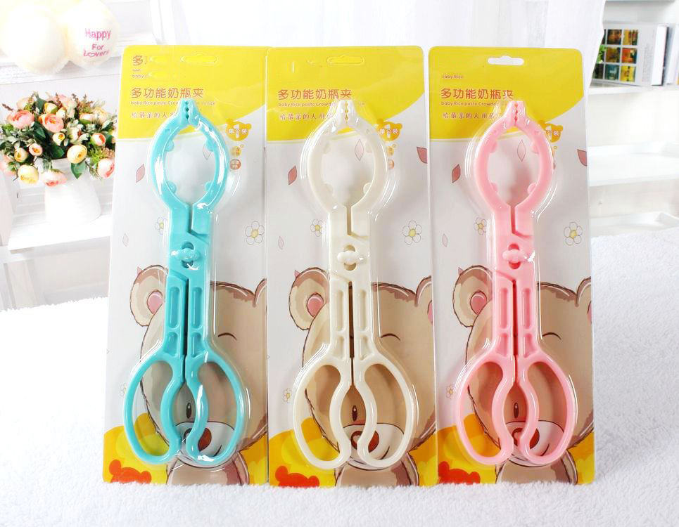 Manufacturers selling baby bottle nipple holder bottle clamp pliers(China (Mainland))