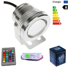 12V 10W RGB LED Underwater Swimming Pool Light IP68 Waterproof With A 110V 220V To 12V 10W 0.8A Transformer Driver(China (Mainland))