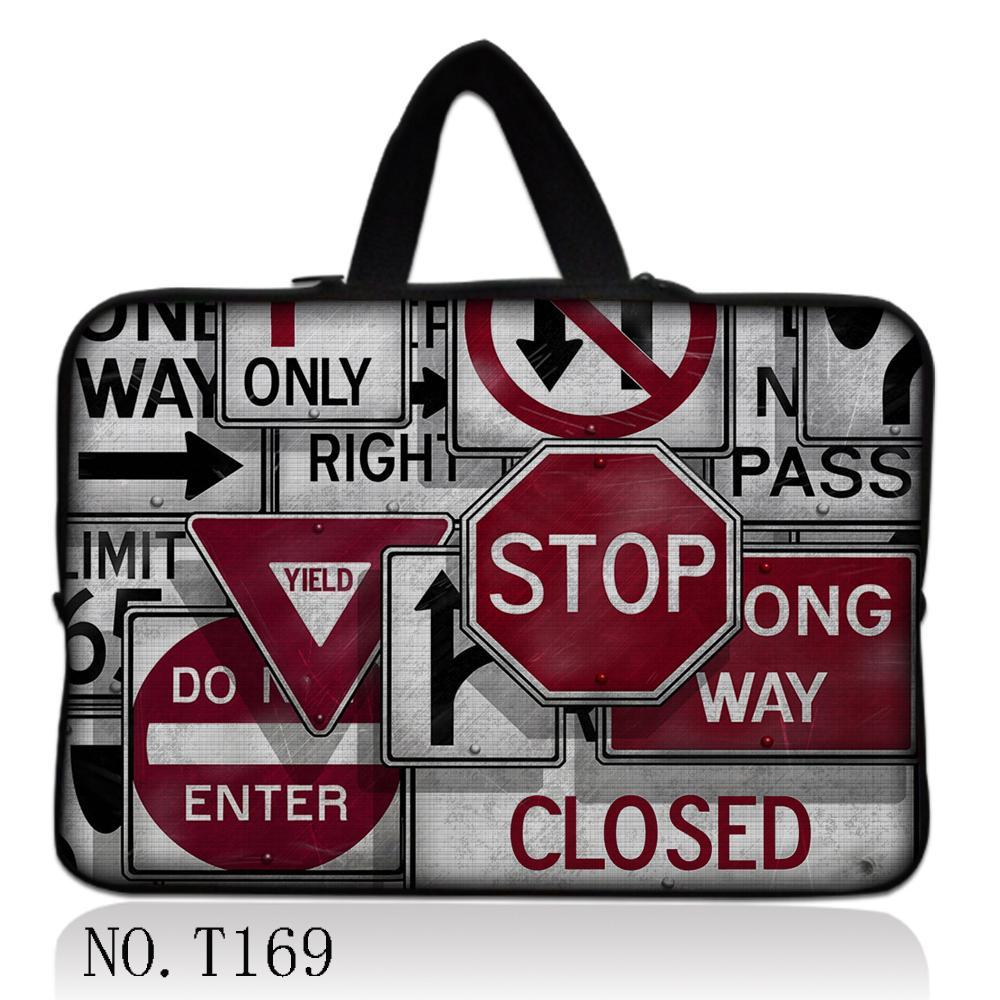 """Traffic Sign 17"""" Laptop Sleeve Bag Soft Carry Case For 17.3"""" Dell Studio 17 XPS HP ENVY 17 3D(China (Mainland))"""
