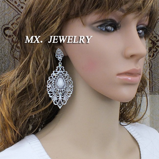 Big Fashion Earrings Women New Big Fashion