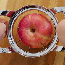 Free shipping 1PCS Stainless Steel Apple Slicer Corer Pear Fruit Cutter Kitchen Bar Tool kitchen accessories 17.5 x 11.5 x 4.5cm