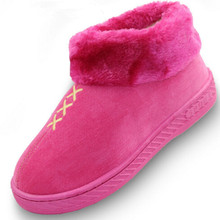 Winter women floor shoes women's winter warm slippers hot sale 2016 new fashion women home slippers cheap shoes(China (Mainland))