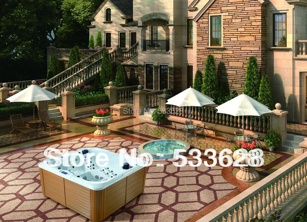 Luxury Outdoor Hot Tubs Pictures To Pin On Pinterest