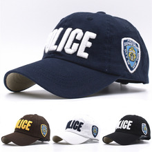 11 Colors Kids High Quality Cotton Police Baseball Caps for Boys Girls Bone Gorras Military Hat Sports Outdoor Snapback Caps(China (Mainland))