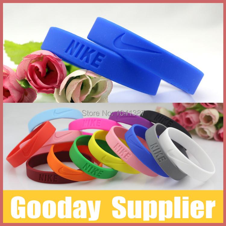 Promotion 100pc/lot Silicone Sport Bracelet Basketball Wristband Factory Direct Free Shipping(China (Mainland))