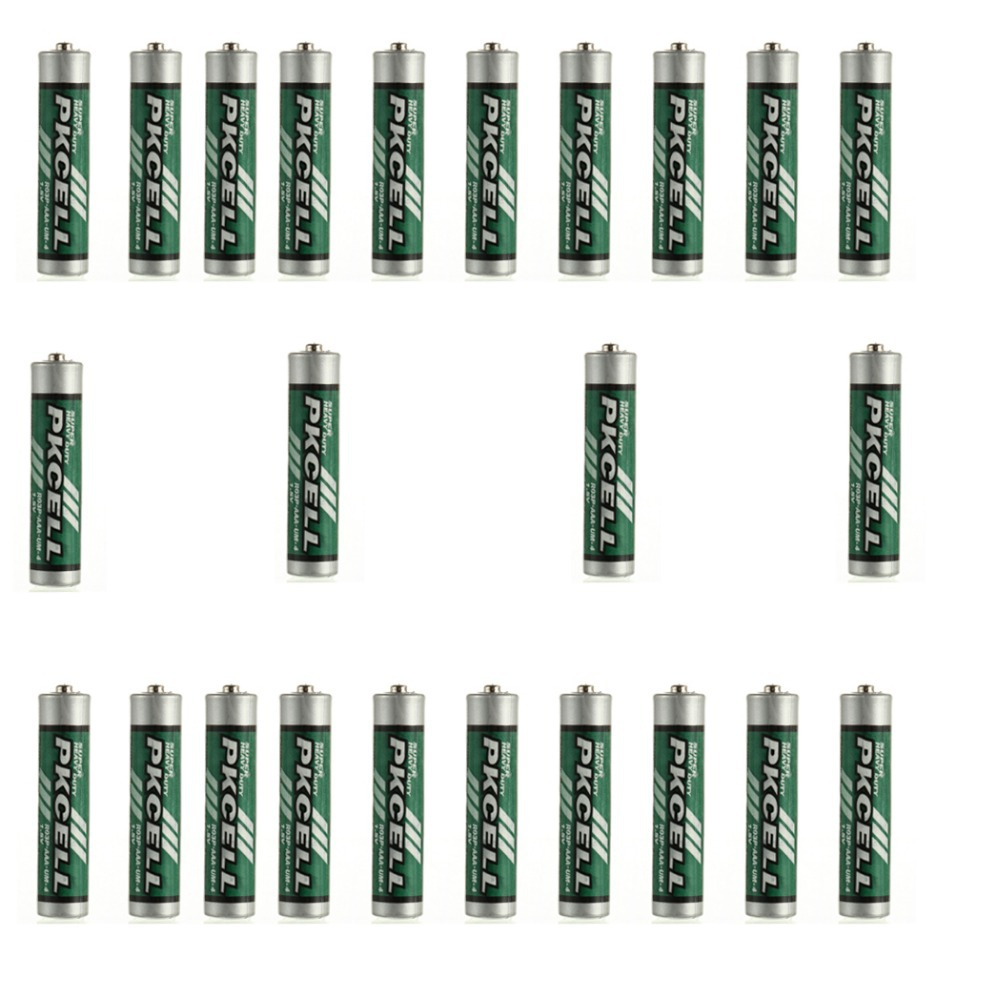 24pcs AAA R03P 1 5V 45min Carbon Zinc i e super heavy duty Dry Battery for