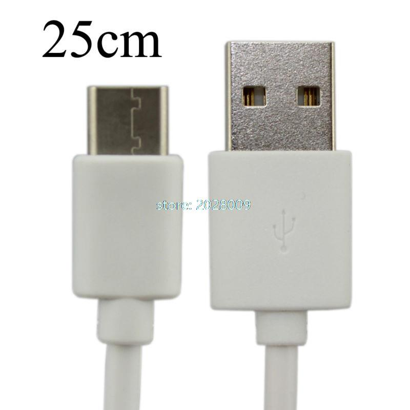 Cable 500pcs 25CM Short Type C USB Data Sync Charger Cable for Oneplus 2 Lumia 950 950XL Xiaomi Mi4c Zuk Z1(China (Mainland))