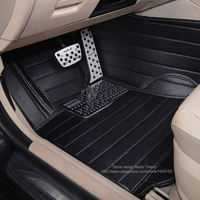 Customized car floor mats for Honda CRV CR-V Accord HRV Vezel Crosstour foot case high quality car-styling carpet foot liners(China (Mainland))
