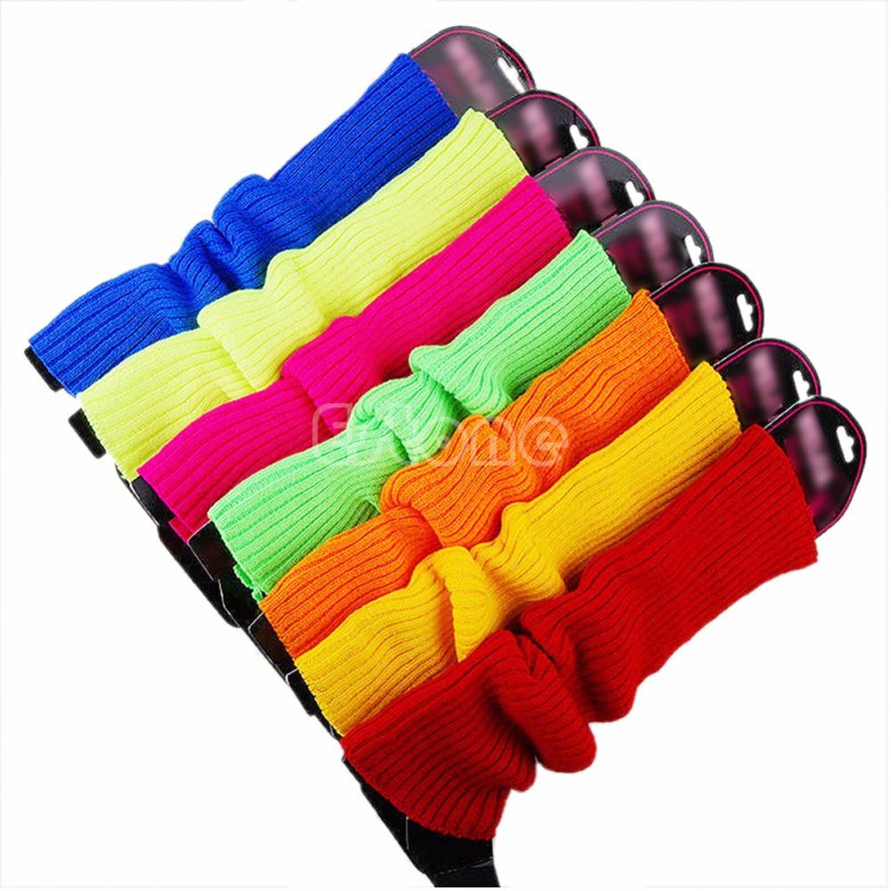 Hot Fashion Women Winter Warm Socking Crochet Knit High Knee Leg Warmers socks Boot Slouch Strench