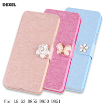 Buy Luxury Original Flip Cover LG G3 D855 D850 D851 Case pu Leather Wallet Card Holder High Phone Case Accessories for $3.69 in AliExpress store
