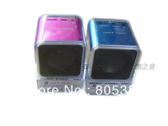 Wholesales 60pcs/lot Hot selling portable bluetooth speaker MD06BT,mini and portable Tf speaker for iphone5,bt speaker DHL free