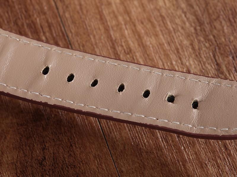 WHATCH Механическая мужские Автоматические часы Мужские часы Мода Кожаный ремешок Часы топ известный китай бренд водонепроницаемый армии наручные часы