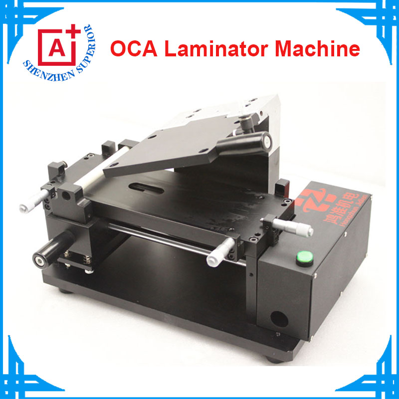 110/220V Manual Vacuum LCD Touch Screen OCA Laminating Machine for iPhone Samsung oca laminator+ one free mould for iphone 5(China (Mainland))