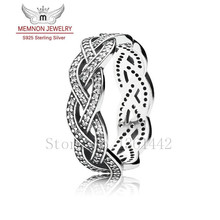 2015 New rings Summer style 925-sterling-silver ring engagement ring Twist of Fate Rings For Women fine jewelry RIP596(China (Mainland))