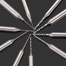 10 unids PCB Kit taladro 0.3 – 1.2 MM acero de aleación de tungsteno de perforación talla