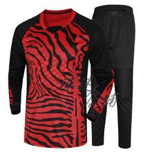 New football soccer doorkeeper goalkeeper jerseys sets long sleeve tops & pants trousers hot wholesales(China (Mainland))
