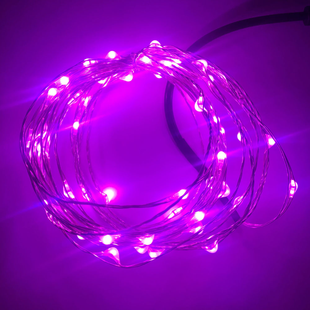 Usb 5v Led String Light 5m 50leds 10m 100leds Sliver
