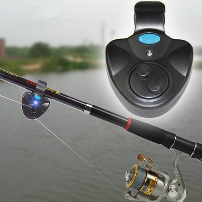 Universal Fishing Alarm Set Wireless Electronic Fish Bite Alarms Finder LED Light Sound Alert Fishing Lines ( Without Battery )(China (Mainland))