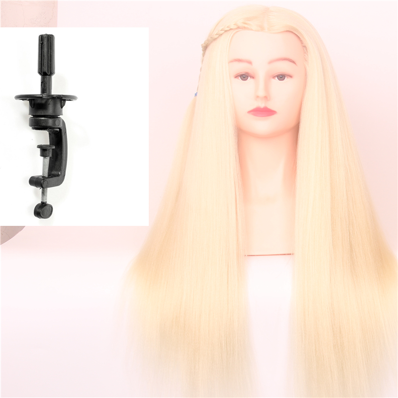 """Synthetic Hair 55""""Yaki Hairline26cm Shoulder Width 613#Makeup Style High Temperature Fiber Hairdressing Styling Test Head Cosmet(China (Mainland))"""