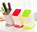 Hot Sale Knife Block Multifunction Knife Shelving Rack Home Storage Tool PP Plastic Kitchen Knives Holder