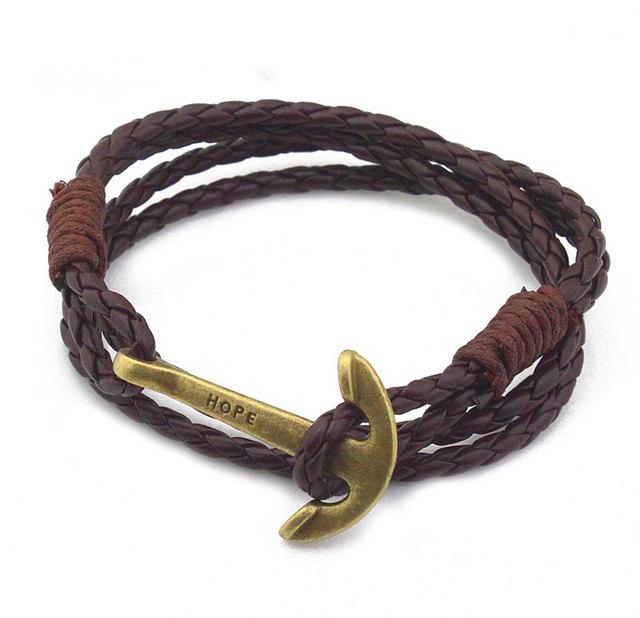 Men`s Bracelet with Anchor