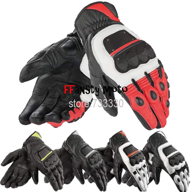 2014 GUANTO 4 STROKE Gloves genuine leather Matal for Off Road ATV Motocross Racing glove motorbike/ motorcycle Glove M L XL<br><br>Aliexpress
