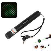 5MW Green Light Laser Pen Powerful Single and Starry Multi-spots Beam PPT Pointer Presenter 532nm Flashlight with Safe Key Lock(China (Mainland))