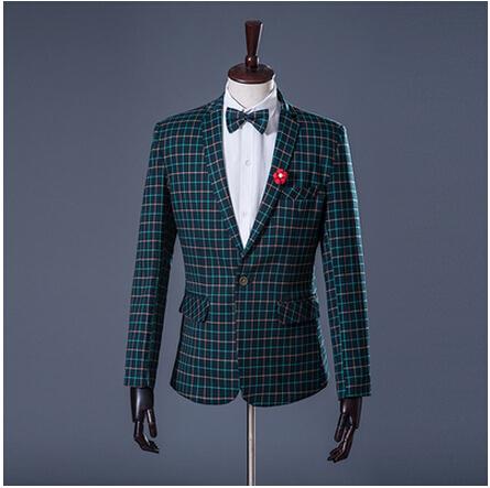 (pants +coat)Can be customized 2015 brand Studio photos gentleman suit Men's suit dress/S-4XL(China (Mainland))