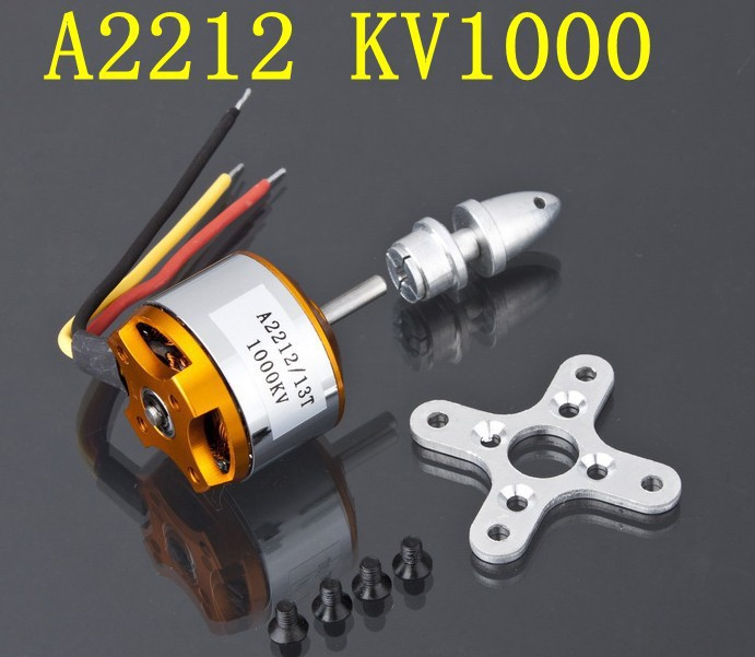 4 pieces A2212 1000KV 13T Brushless Outrunner Motor W/ Mount FPV<br><br>Aliexpress