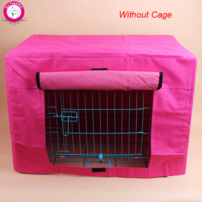 Durable Pet Dog Cage Cover Waterproof Oxford Puppy Crate Cover Without Cage S/M(China (Mainland))