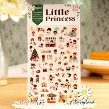 Buy 1xDaisyland Little Princess adhesive paper sticker decorative DIY scrapbooking sticker post kawaii stationery for $1.01 in AliExpress store