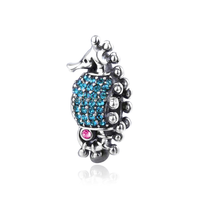 soufeel blue sea charm 925 sterling silver fit all