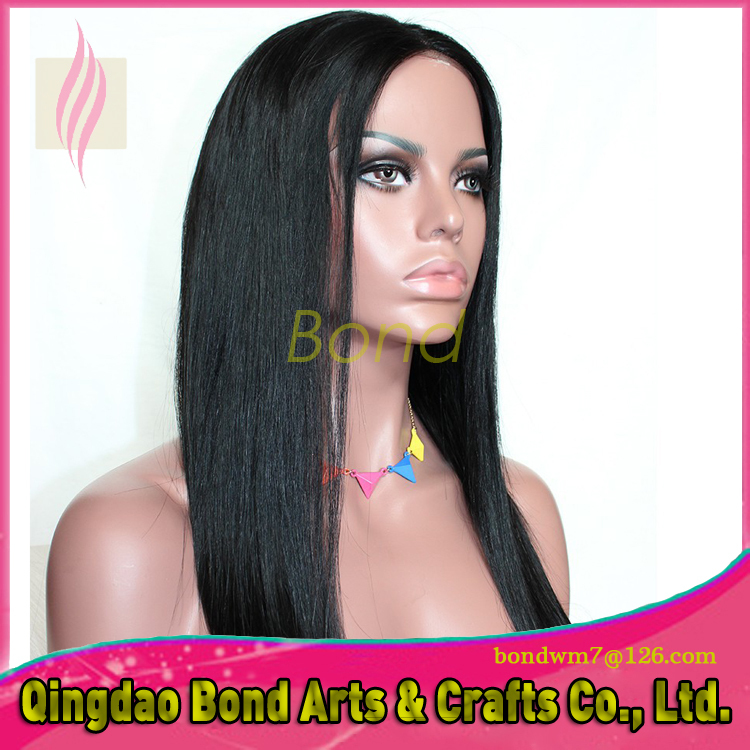 Fashion 5a+ grade Peruvian virgin human hair silky straight full lace wig in stock fast shipping by DHL<br><br>Aliexpress