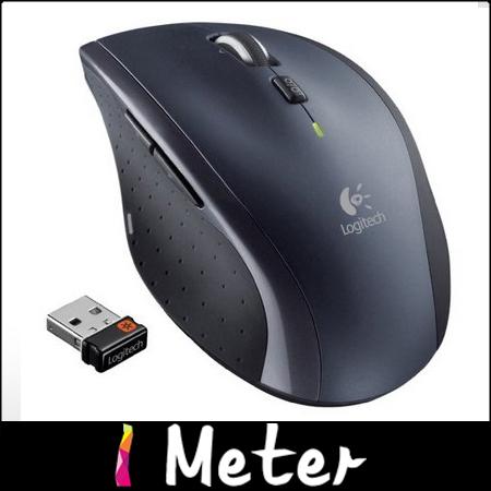 Free HKPOST Original Logitech 2.4G USB Wireless Marathon Mouse M705 With 3-year Battery Life PC Laptop wireless mice M0045<br><br>Aliexpress