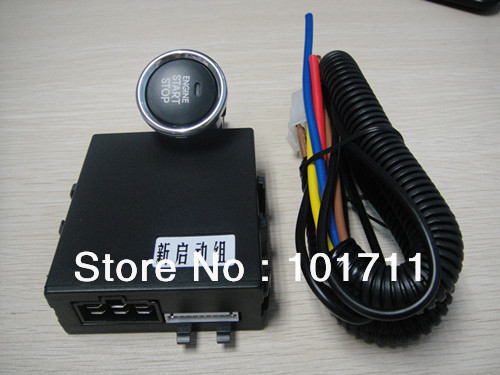 Start engine keyless just push button for one second attach alarm system match with all car ,more convenience and top grade