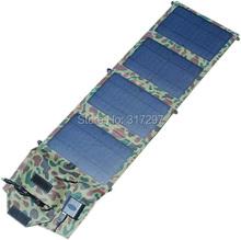 14Watt 18V+USB 5V Portable Solar Battery Charger Panels High Quality Folding Mono Solar Panel 14 watt