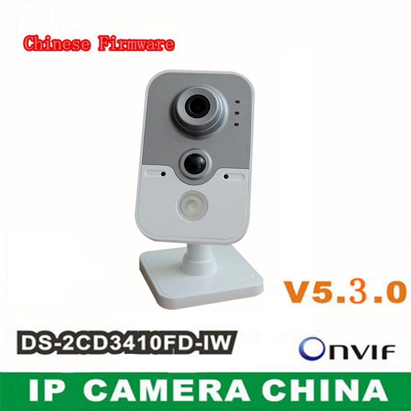 IP Camera WIFI DS-2CD3410FD-IW 1.3MP Full HD 720P IR MINI WIFI Wireless IP Camera CCTV TF Card Camera<br><br>Aliexpress