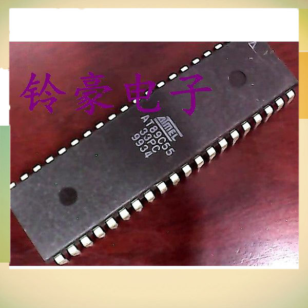 DIP IC AT89C55-33PC AVR 8-Bit Flash Superioritytroller pico controller chip DIP40 MCUclock(China (Mainland))