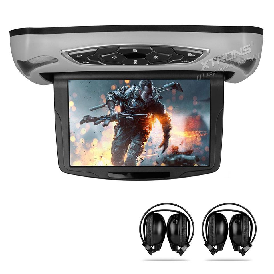 Montage au plafond lecteur dvd de voiture promotion for Moniteur montage video
