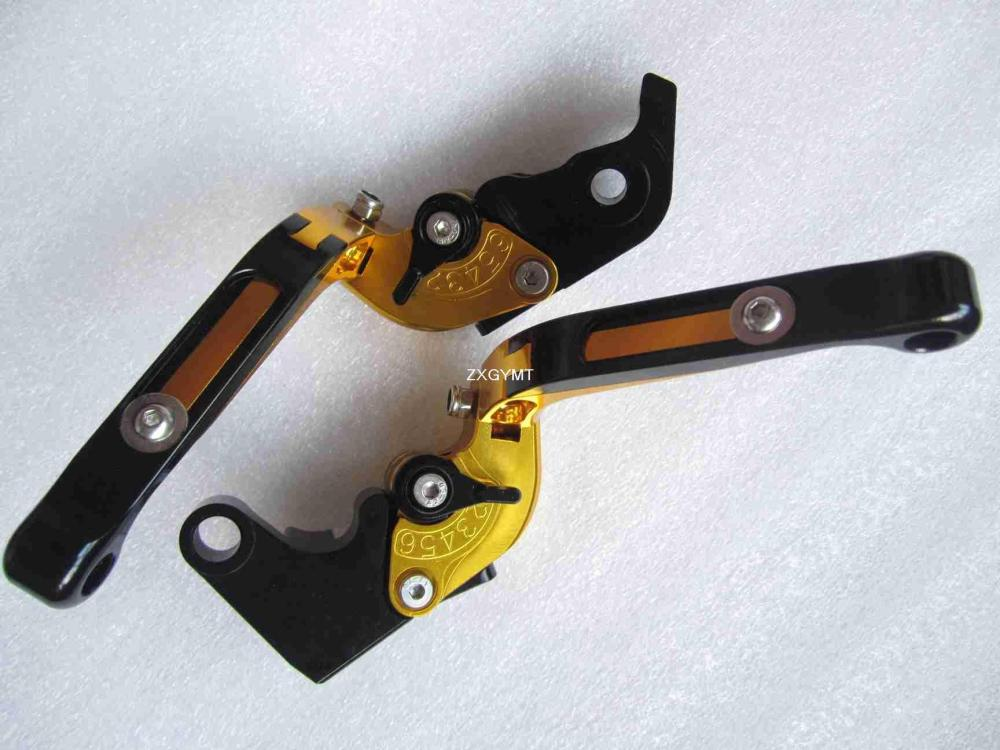 Extended Foldable Lever Set fit Yamaha Raptor 700 2006 first quality Alloy Clutch Levers(China (Mainland))