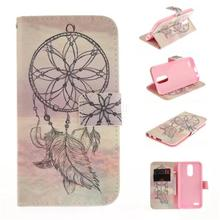 Buy Luxury Painted Flower Wallet PU Leather Flip Cover LG K10 2017 Case Stand Card Fundas LG K8 2017 / K4 2017 Phone Bags for $3.59 in AliExpress store