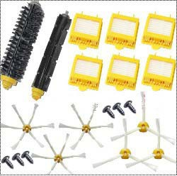 6 Hepa Filter + 1 set hair Brush kit + 6 side brush +6 Screw for iRobot Roomba 700 Series 770 780 790 vacuum cleaner accessories(China (Mainland))