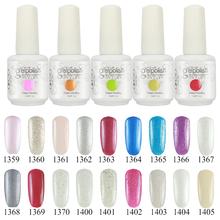 (Choose 5 Colors)15ml Gelishgel Soak off UV Nails Gel Color Polish Professional&Gel nails polish Varnish Long lasting