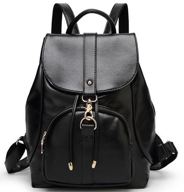 2015 New fashion designer brand brown bag ladies preppy style brown women backpack School Backpack backpack women Shoulder J324