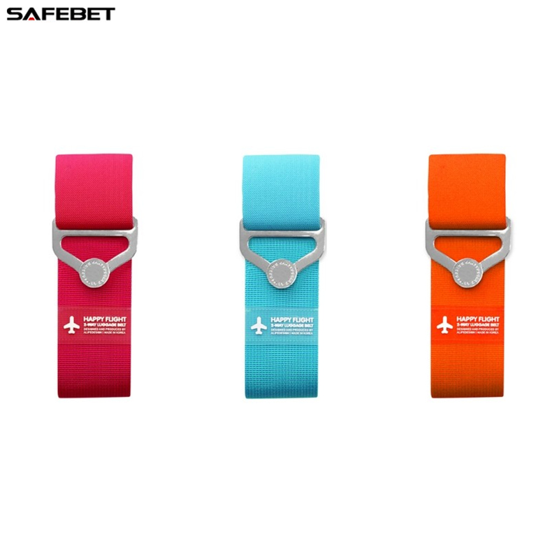 SAFEBET Candy Color Classic Practical Travel Elastic Luggage Straps Adjustable - Luggage Belt - Baggage Suitcase Travel 90cm(China (Mainland))