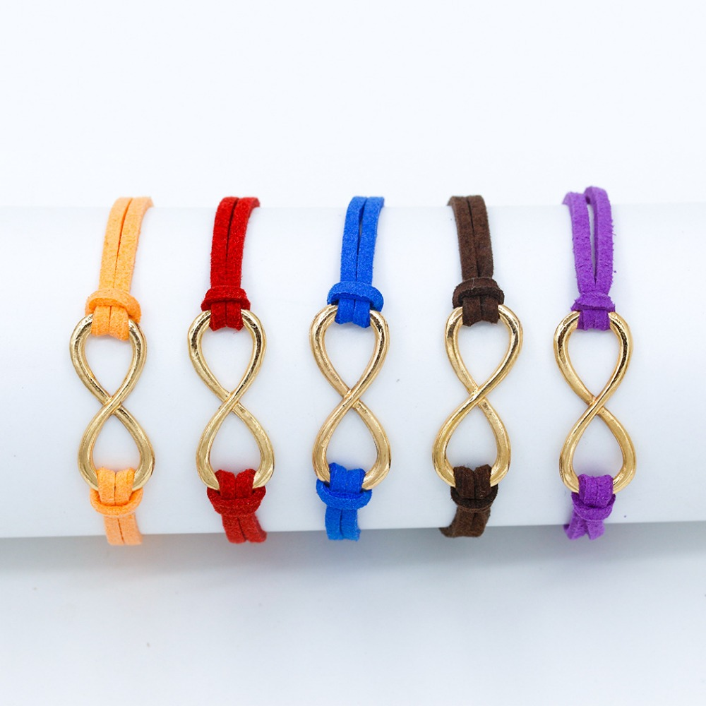 14-Colors-Cross-Infinity-Leather-Bracelet-Charm-Eight-Bangle-For-Men-Women-Girl-Wedding-Jewelry-Bijoux