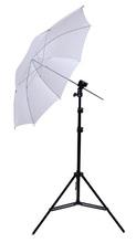 Photography Studio Kits Light Stand+Translucent White Umbrella+B Type Flash Shoe Umbrella Holder Bracket Photo Studio Set
