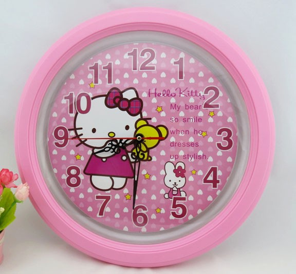 Clock Mp4 Picture More Detailed Picture About Fashion Beautiful Home Decoration Hello Kitty